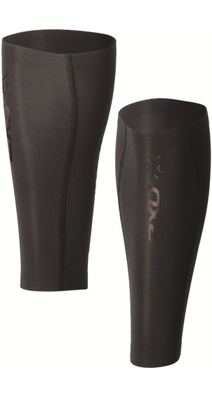 2XU Elite MCS Compression Calf Guard Unisex Black/Black logo